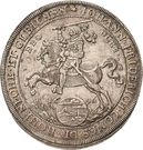 1 Thaler - Johann Friedrich I – obverse