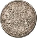 1 Thaler - Johann Friedrich I – reverse