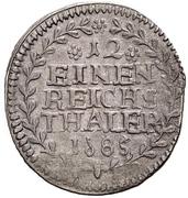 1/12 Thaler - Ludwig Gustav – reverse