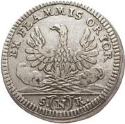 2½ Kreuzer - Karl Albrecht – reverse