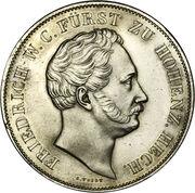 2 Gulden - Friedrich Wilhelm Konstantin – obverse