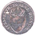 6 Kreuzer - Friedrich Wilhelm Constantin – obverse