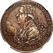 1 Thaler - Hermann Friedrich Otto – obverse