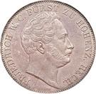 2 Thaler / 3½ Gulden - Hermann Friedrich Otto – obverse