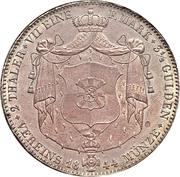 2 Thaler / 3½ Gulden - Hermann Friedrich Otto – reverse
