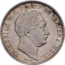 ½ Gulden - Friedrich Wilhelm Constantin – obverse