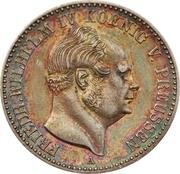 ½ Gulden - Friedrich Wilhelm IV – obverse
