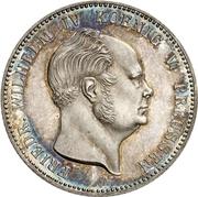 1 Gulden - Friedrich Wilhelm IV – obverse