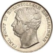 1 Gulden - Carl – obverse
