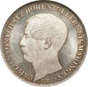 1 Gulden - Karl Anton – obverse