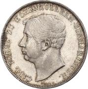2 Thaler / 3½ Gulden - Karl – obverse