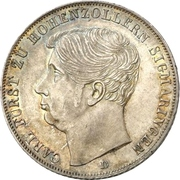 2 Gulden - Carl – obverse