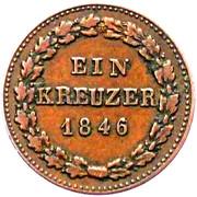1 Kreuzer - Karl – reverse