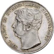 1 Gulden - Carl (Piedfort) – obverse