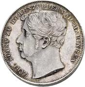 ½ Gulden - Carl Anton (Piedfort) – obverse