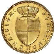 6 Kreuzer - Karl (Gold Pattern) – obverse