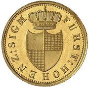 3 Kreuzer - Karl (Gold Pattern) – obverse