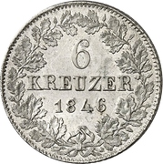 6 Kreuzer - Karl – reverse
