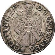 1 Thaler - Ernst VII. (Ellrich; Ausbeutetaler) – reverse