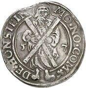 1 Thaler - Volkmar Wolfgang, Wilhelm, Eberwein & Ernst VI (St. Andreas Ausbeute) – reverse