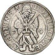 1 Thaler - Volkmar Wolfgang (St. Andreas Ausbeute) – reverse