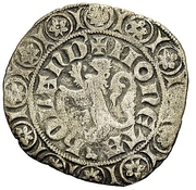 "1 Groot ""Leeuwengroot"" - William V of Bavaria – reverse"