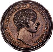 50 Stuivers - Louis Napoleon (Pattern) – obverse