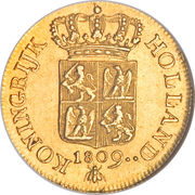 1 Ducat - Louis Napoleon (Trade Coinage) – reverse