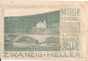 20 Heller (Hollenstein) -  obverse