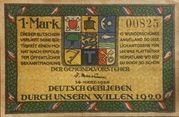 1 Mark – obverse