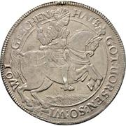 2 Thaler - Ernst III. -  reverse