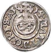 1 Groschen - Ernst III. – reverse