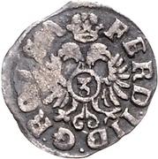 3 Kreuzer - Ernst III. (Kipper) – reverse