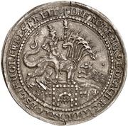 ½ Thaler - Ernst III. (Biblischer Halbtaler) – reverse