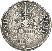 1 Thaler - Adolf XIII. – obverse