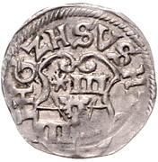 3 Pfennig - Ernst III. – obverse