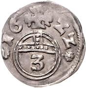 3 Pfennig - Ernst III. – reverse