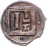 1½ Pfennig - Ernst III. – reverse