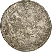 3 Thaler - Ernst III – reverse