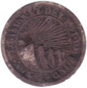 4 Reales (State of Honduras - Provisional) – obverse