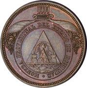 4 Pesos (Pattern strike) – obverse