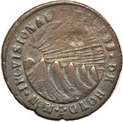 1 Real (State of Honduras - Provisional) – obverse