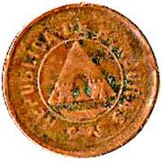 2 Centavos (Mule) -  obverse