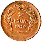 2 Centavos (Mule) -  reverse