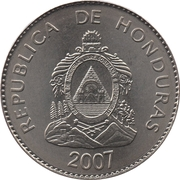 50 Centavos (magnetic) -  obverse