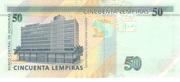 50 Lempiras -  reverse