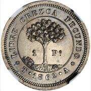 1 Peso (Pattern strike) – reverse