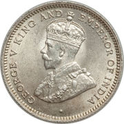 10 Cents - George V – obverse