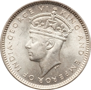 10 Cents - George VI – obverse