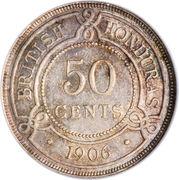 50 Cents - Edward VII – reverse